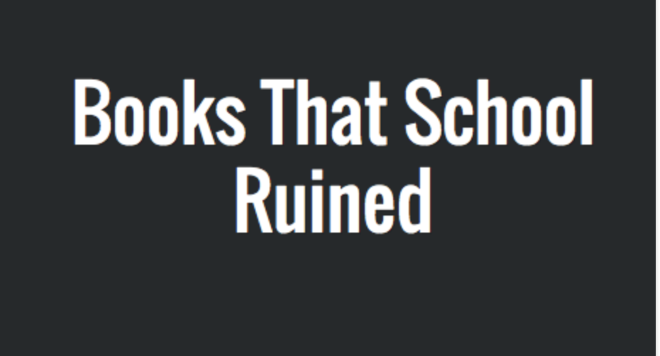 The 'Middlemarch' Tongue Burn: Books That School Ruined