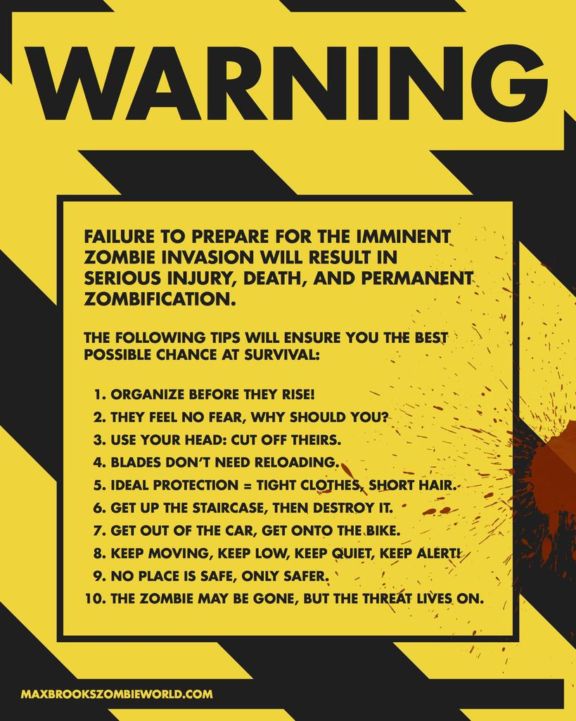 bookriot.comzombie survival tip