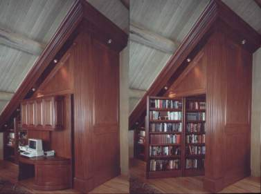 revolving-bookcase-wall