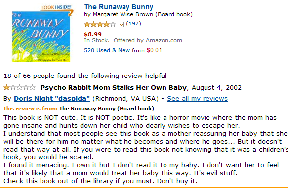 least helpful runaway bunny
