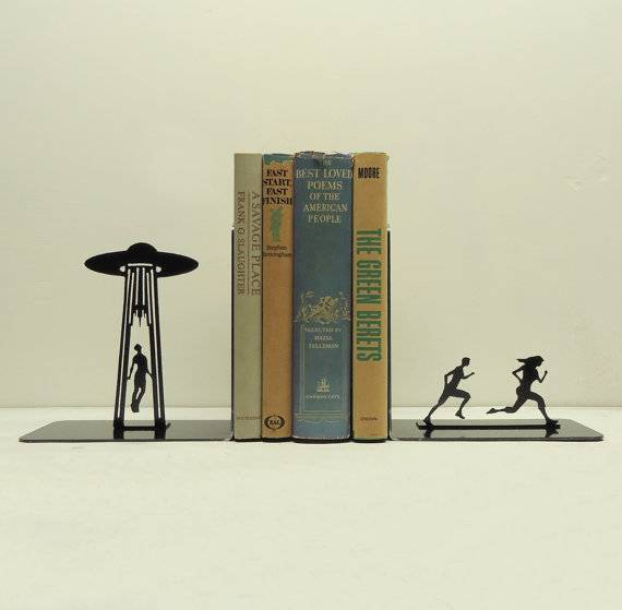 ufo bookends