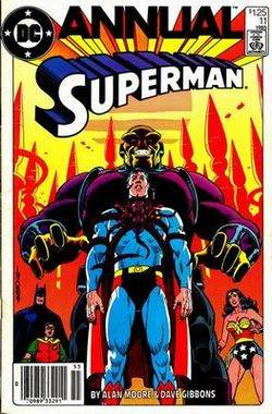 Superman, by Alan Moore & Dave Gibbons