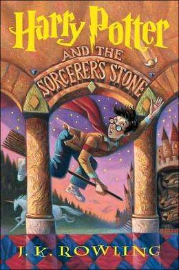 harry potter and the sorceror's stone cover jk rowling