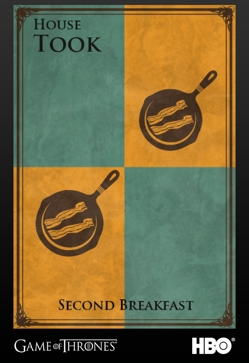 Game Of Thrones House Sigils For Literary Characters