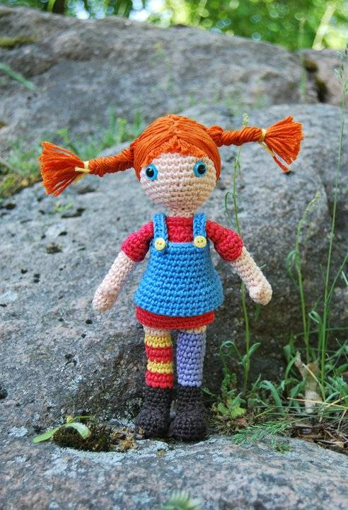 Pippi Longstocking Amigurumi
