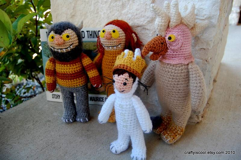 Where the Wild Things Are Amigurumi