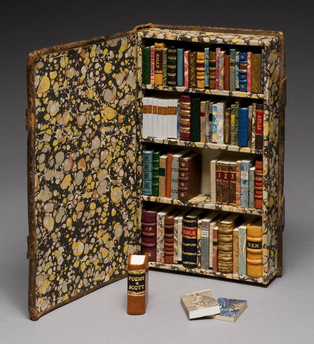 """""""Little Library"""" (2009), by Todd Pattison. Photo from the Guild of Bookworkers."""