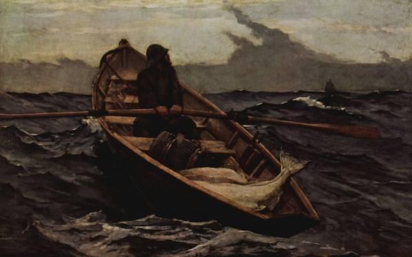 Winslow Homer's The Fog Warning - 1885