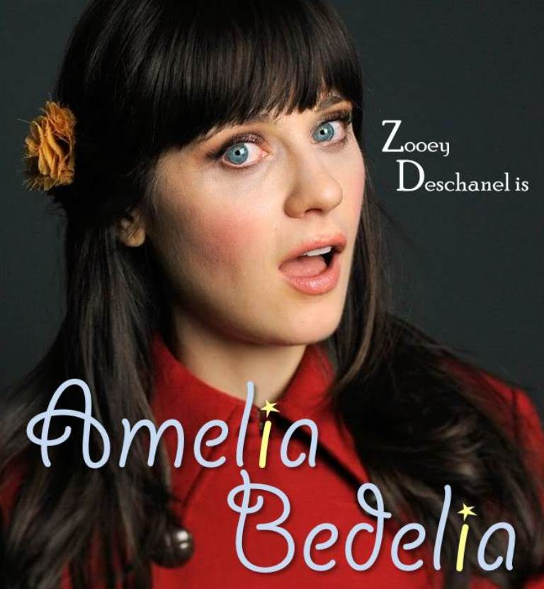 Zooey Deschanel As Amelia Bedelia A Hypothetical Match