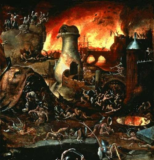 Hieronymus Bosch's Hell - Date Unknown