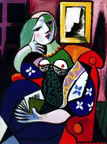 Pablo Picasso's Woman with a Book - 1932