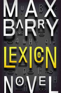 Lexicon Max Barry Cover