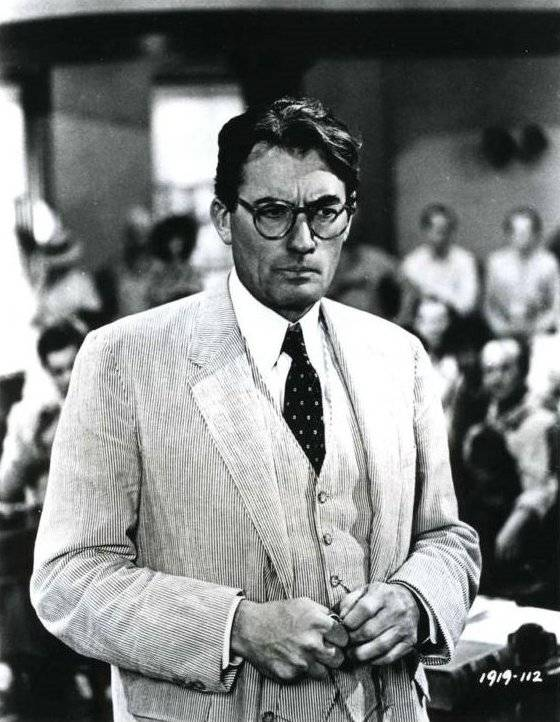 how is atticus finch portrayed Atticus finch is the father of two young children, jem and scout throughout the book jem and his little sister scout learn a lot about the place they call home.