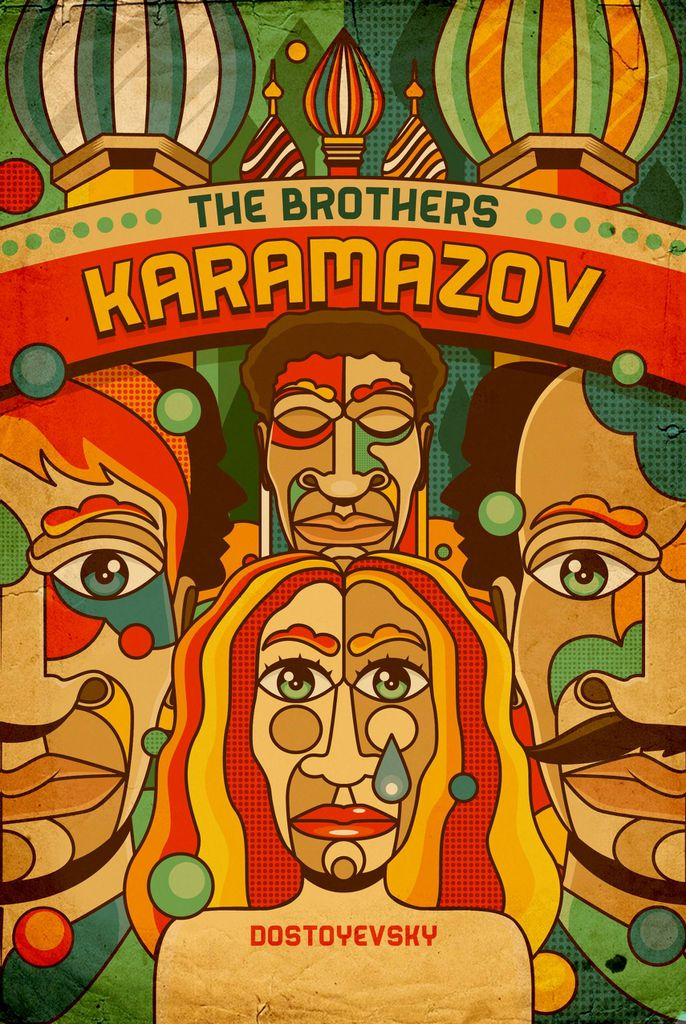 brothers karamazov cover by roberlan borges