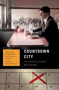 Countdown City Ben H Winters Cover
