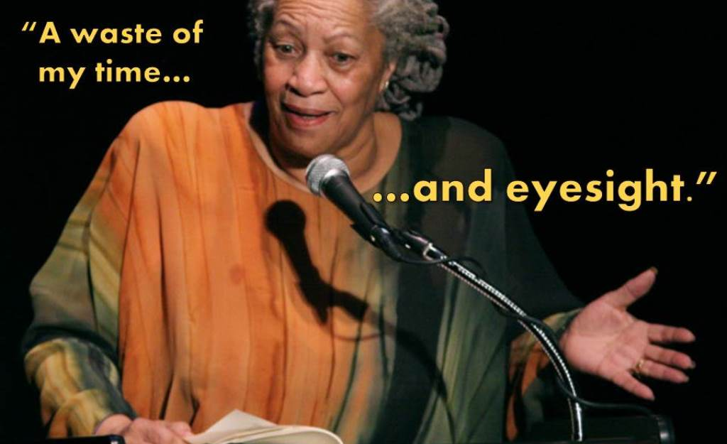10 Authors Read One Star Reviews Toni Morrison