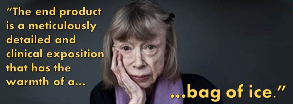 10 Authors Read One Star Reviews Joan Didion