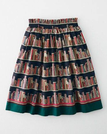 bookshelves skirt