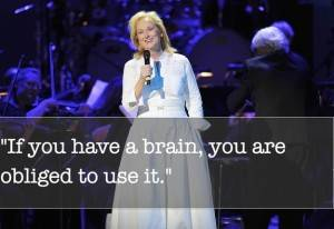 This applies to reading. Image: Jamie McCarthy / Getty Images. Quote via interviewmagazine.com