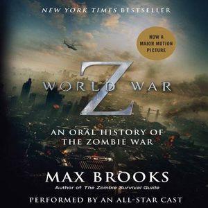 World War Z movie tie in audio