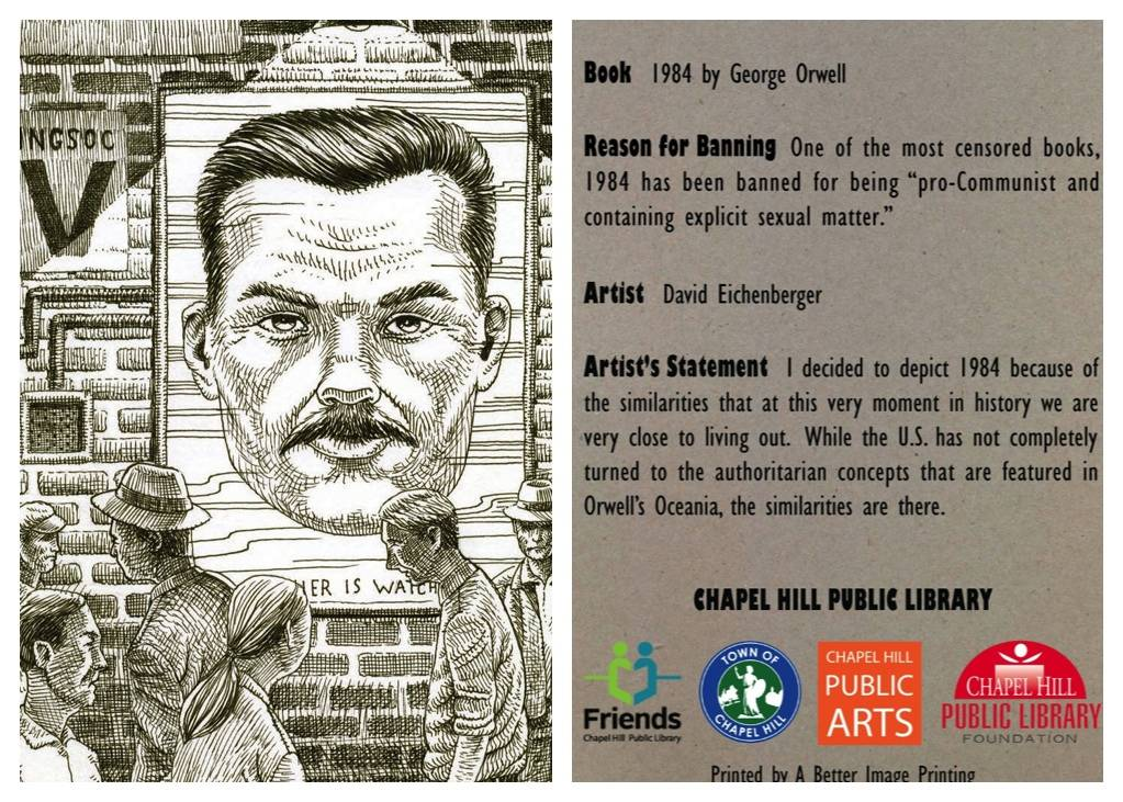 1984 Banned Books Card