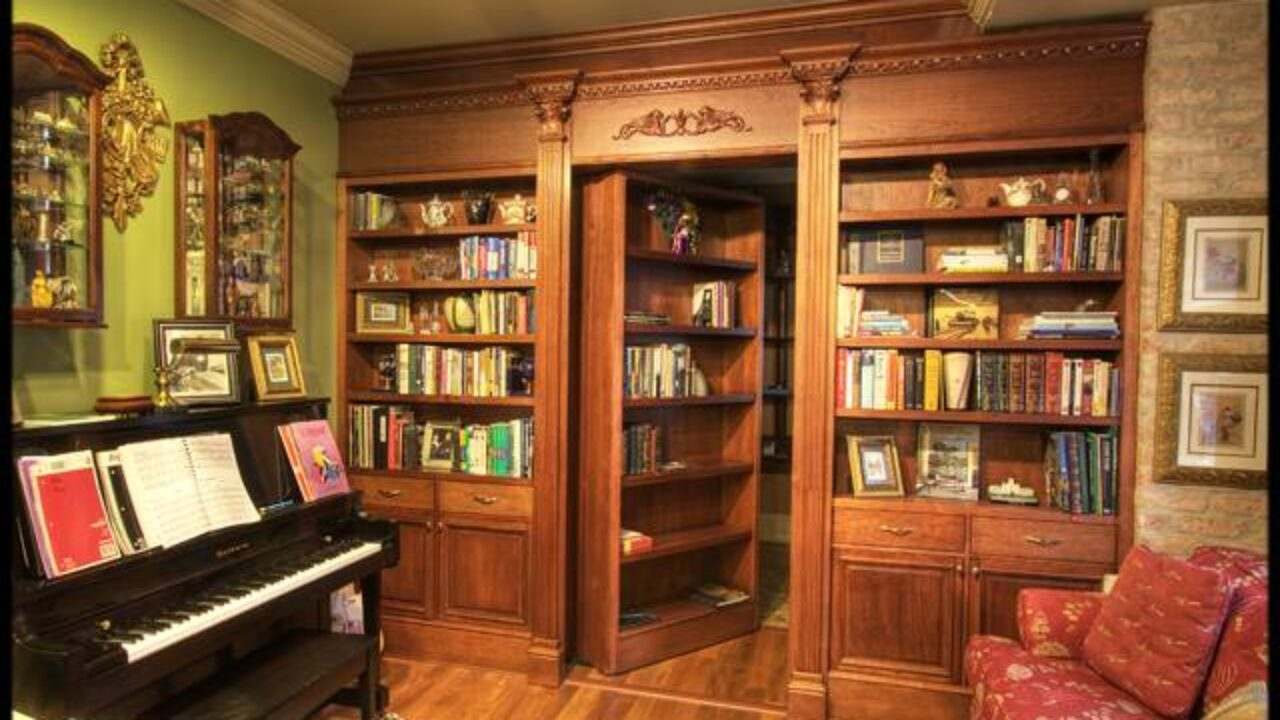 10 Awesome Secret Passage Bookshelves