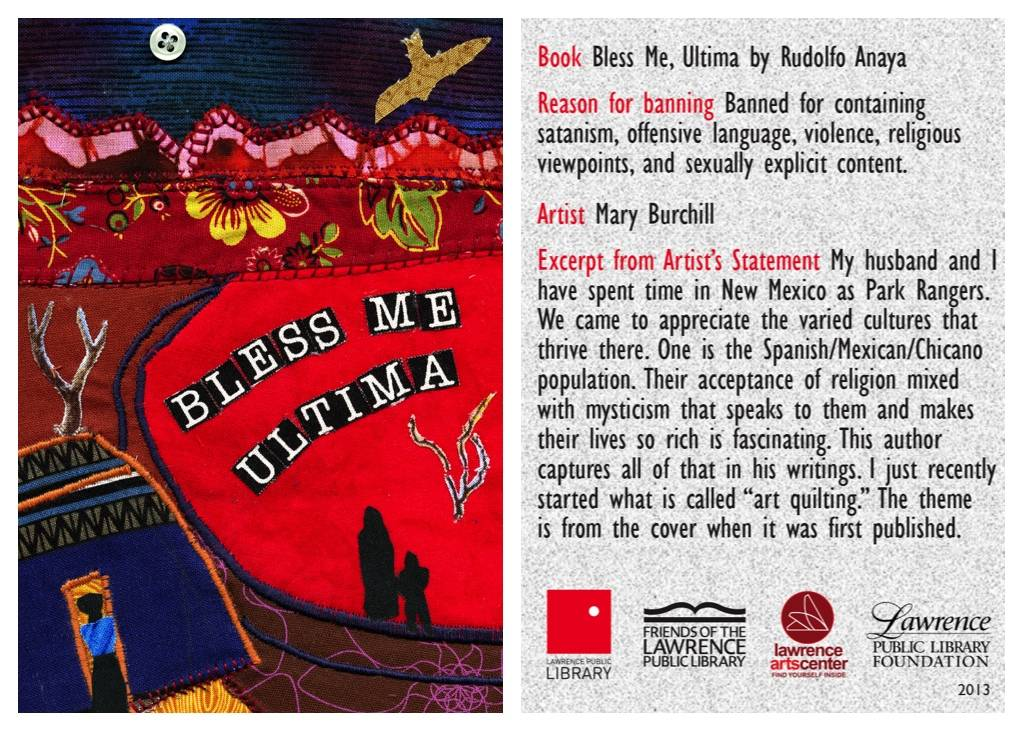 bless me ultima banned book card