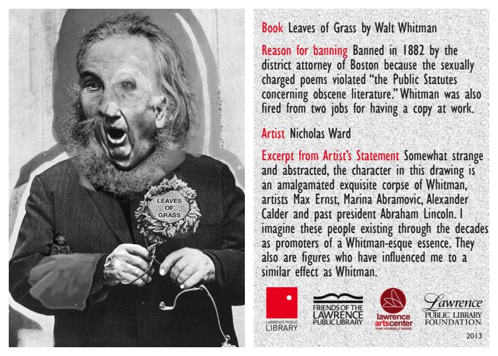 leaves of grass banned book card