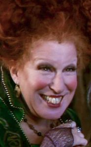 Winifred Sanderson (played by Bette Midler)