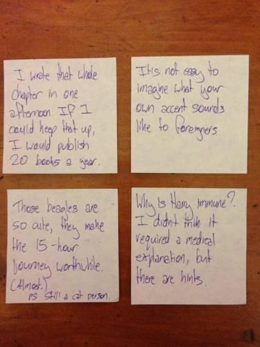 Lexicon notes 5