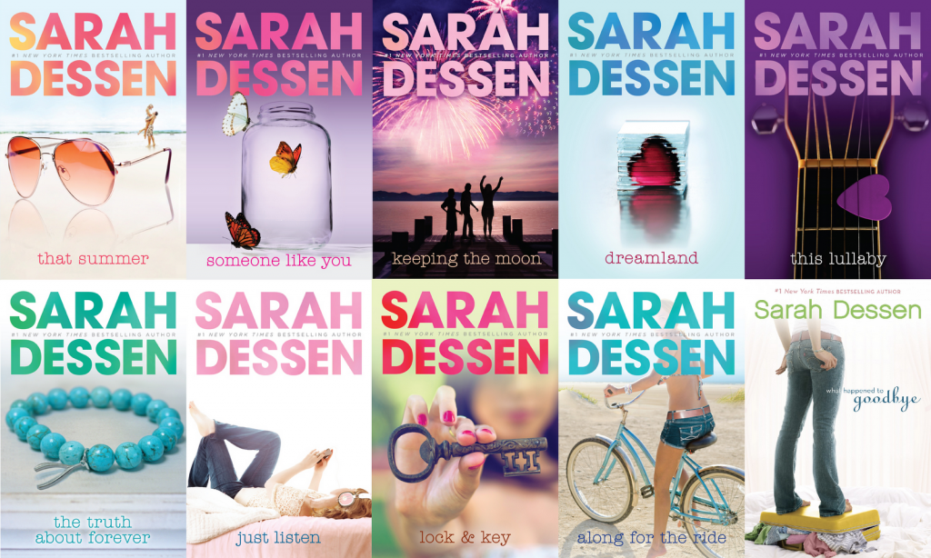 Sarah Dessen Book Covers