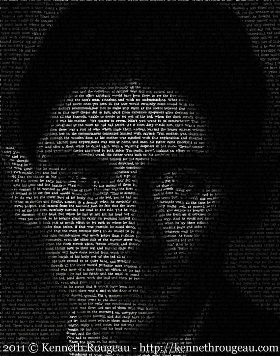 kafka print portrait