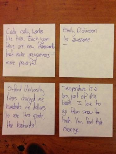 lexicon notes 4