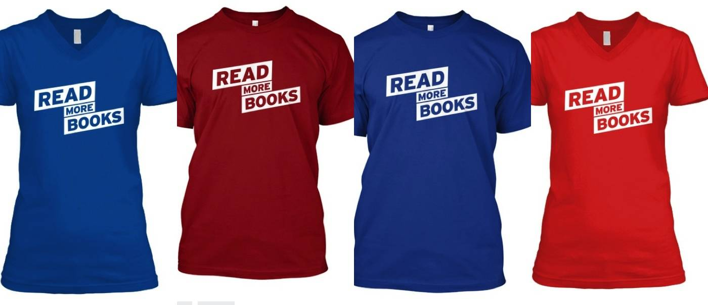 Get Our Limited Edition Read More Books T Shirt