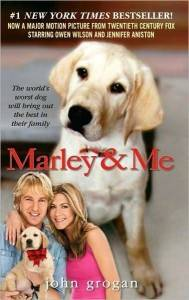 cover of marley and me by john grogan