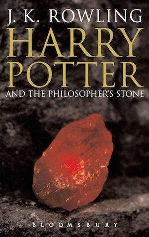 Harry Potter And The Philosopher's Stone Adult Book Cover | BookRiot.com
