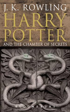Harry Potter And The Chamber Of Secrets Adult Book Cover | BookRiot.com