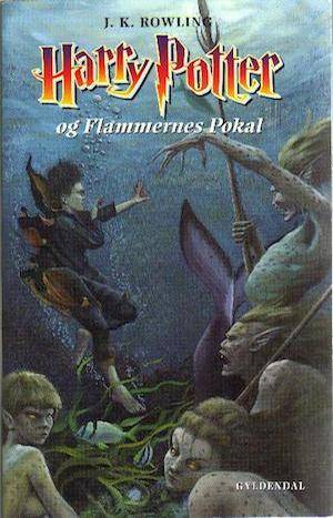 Harry Potter And The Goblet Of Fire | Danish Harry Potter Book Covers