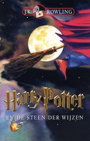 Harry Potter And The Philosopher's Stone | Dutch Harry Potter Book Covers