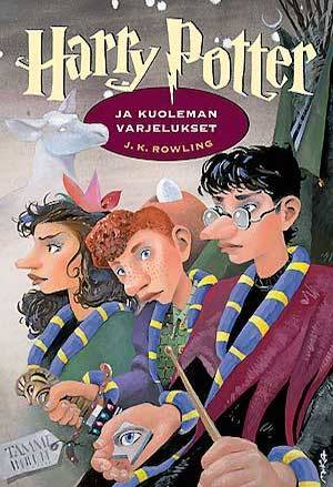 Harry Potter And The Philosopher's Stone | Finnish Harry Potter Book Covers