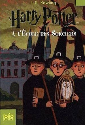 French Harry Potter Book Covers