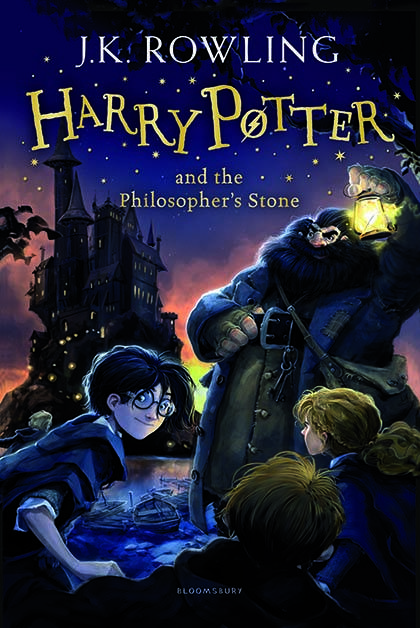 Harry Potter And The Philosopher's Stone Book Cover | BookRiot.com