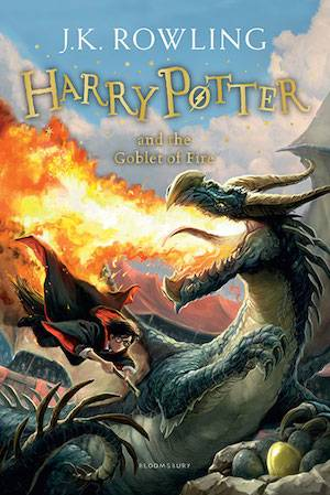 Harry Potter And The Goblet Of Fire Book Cover | BookRiot.com