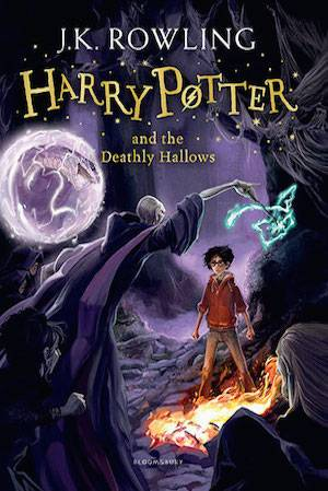 Harry Potter And The Deathly Hallows Book Cover | BookRiot.com