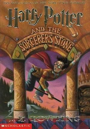 Harry Potter And The Sorcerer's Stone Original Book Cover | BookRiot.com