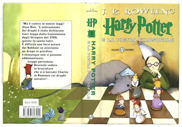 Harry Potter And The Philosopher's Stone | Italian Harry Potter Book Covers