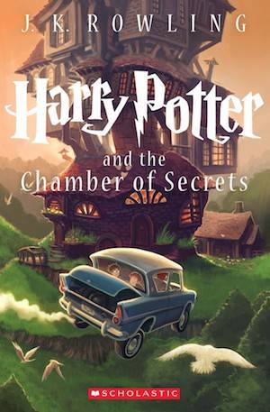 Harry Potter And The Chamber Of Secrets New Book Cover | BookRiot.com