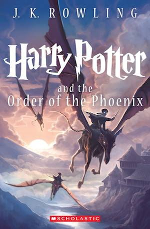 Harry Potter And The Order Of The Phoenix New Book Cover | BookRiot.com