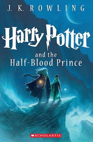 Harry Potter And The Half-Blood Prince New Book Cover | BookRiot.com