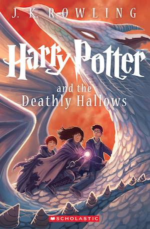 Harry Potter And The Deathly Hallows New Book Cover | BookRiot.com